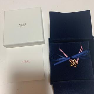 アーカー(AHKAH)のアーカー セレソコード ブレスレット サクラ 桜 K10PG(ブレスレット/バングル)