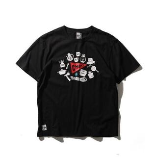 CHUMS - 【CHUMS/チャムス】キャンプギア◆プリントTシャツXL