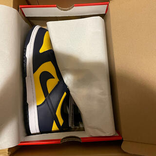 NIKE - 即日発送 NIKE DUNK LOW MICHIGAN