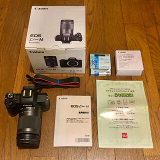 キヤノン(Canon)の★美品 5年保証 Canon EOS Kiss M EF-M18-150 セット(ミラーレス一眼)