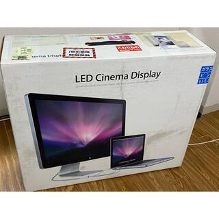 アップル(Apple)のAPPLE LED Cinema Display 24インチ MB382J/A(ディスプレイ)