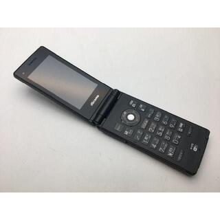 エヌイーシー(NEC)の美品動作確認済■N-07E ブラック ドコモガラケー 79(携帯電話本体)