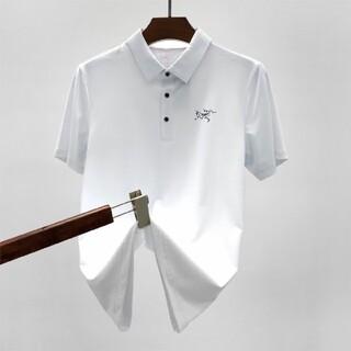 アークテリクス(ARC'TERYX)のArcteryx 上品新作 POLOシャツ 白 L(シャツ)