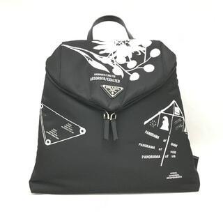 プラダ(PRADA)の新品 21SS PRADA ロゴ ピーターデポッター ナイロン バックパック(リュック/バックパック)