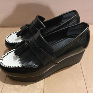 ミラオーウェン(Mila Owen)のミラオーウェン プラットフォームシューズ(ローファー/革靴)