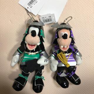 ディズニー(Disney)のディズニー 五月人形 兜 グーフィー マックス ぬいぐるみバッジ(キャラクターグッズ)