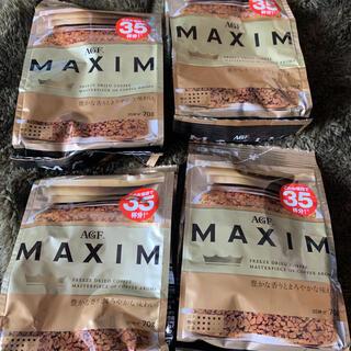 エイージーエフ(AGF)のmaxim インスタントコーヒー 詰め替え(コーヒー)