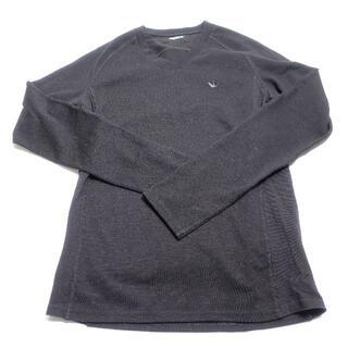 ウノピゥウノウグァーレトレ(1piu1uguale3)の1PIU1UGUALE3 ロングTシャツ メンズ ブラック(Tシャツ/カットソー(七分/長袖))