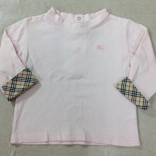 バーバリー(BURBERRY)のバーバリー  袖の折り返しが可愛いカットソー80cm 02YE04291484(シャツ/カットソー)