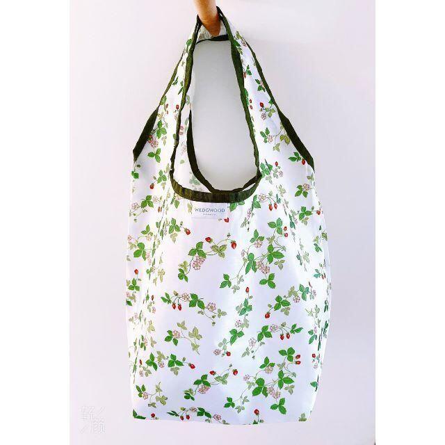 WEDGWOOD(ウェッジウッド)の新品ウェッジウッドWEDGWOOD折りたたみショッピングバック軽量エコバック レディースのバッグ(エコバッグ)の商品写真