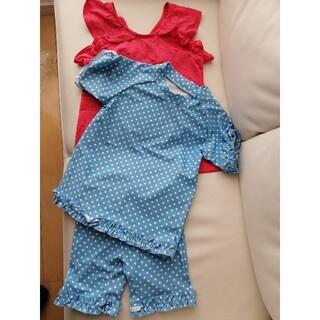 Branshes - 【新品 未使用】ブランシェス 女の子 130サイズ 水着とおまけ