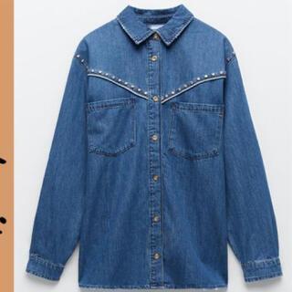 ザラ(ZARA)の✨新品タグ付き✨ZARA denim shirt(Gジャン/デニムジャケット)