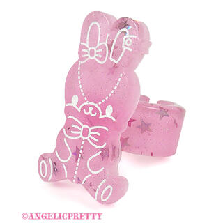 Angelic Pretty - Angelic Pretty Jelly Candy Toysリング ピンク