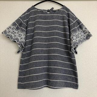 サマンサモスモス(SM2)のSM2 コットンリネン ブラウス(シャツ/ブラウス(半袖/袖なし))