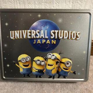 ミニオン(ミニオン)のUSJ ミニオン クッキー アソートクッキー 缶(キャラクターグッズ)