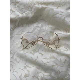 ロキエ(Lochie)のgold motif glasses(サングラス/メガネ)