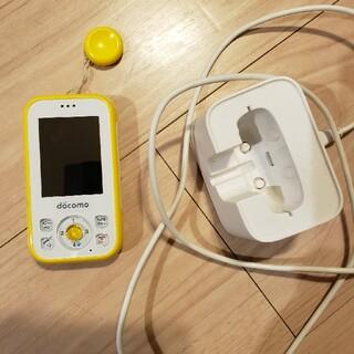 ファーウェイ(HUAWEI)のキッズ携帯ドコモHW01G美品(携帯電話本体)