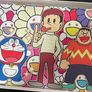 シュプリーム(Supreme)の村上隆 ドラえもん札幌展 マルチクロス 未使用品(キャラクターグッズ)