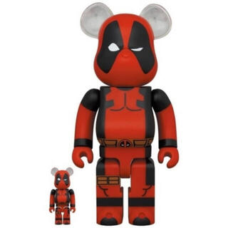 MEDICOM TOY - MEDICOM TOY BE@RBRICK DEADPOOL 100 400
