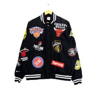 シュプリーム(Supreme)のシュプリーム×ナイキ■18SS NBAウォームアップジャケット(ナイロンジャケット)