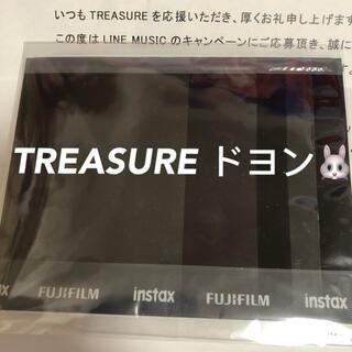 TREASURE ドヨン 直筆サイン入り ポラロイド チェキ(サイン)
