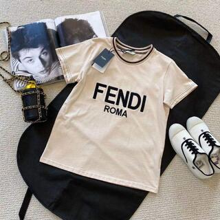 FENDI - ★FENDI★ピンクジャージー Tシャツ