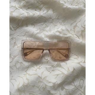 ロキエ(Lochie)のclear-brown sunglasses(サングラス/メガネ)