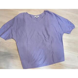 ユニクロ(UNIQLO)のユニクロ・半袖カットソー・Lサイズ(カットソー(長袖/七分))