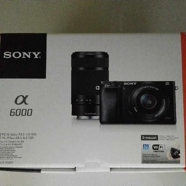 SONY(ソニー)のカイオウ様専用 SONY ミラーレス一眼レフ ILCE-6000Y/S シルバー スマホ/家電/カメラのカメラ(ミラーレス一眼)の商品写真