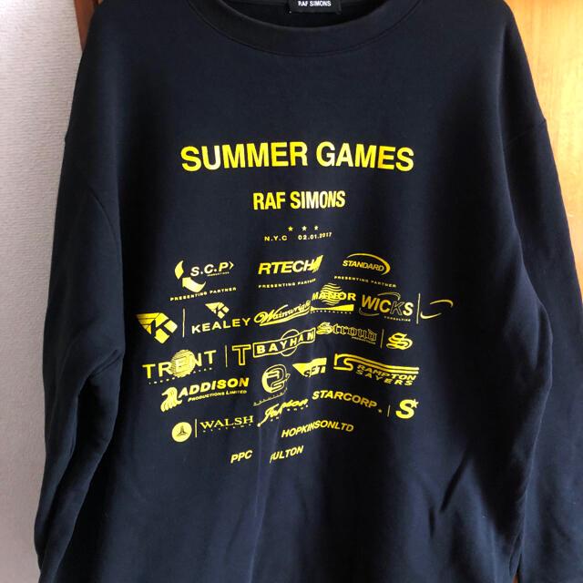 RAF SIMONS(ラフシモンズ)のRafsimons (summer game)スエット メンズのトップス(スウェット)の商品写真