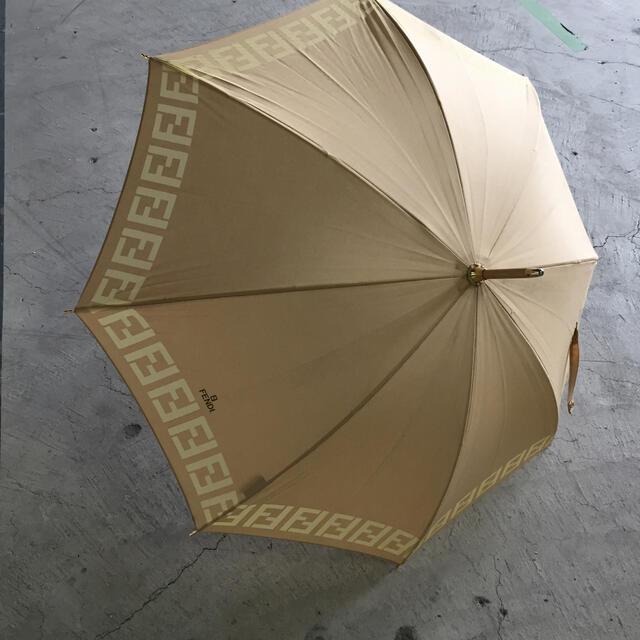 FENDI(フェンディ)のフェンディ FENDI 日傘 ベージュ  レディースのファッション小物(傘)の商品写真