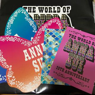 アナスイ(ANNA SUI)のアナスイ ポストカード等4点+20thショッパー 袋(ノベルティグッズ)