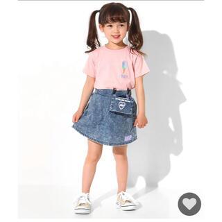 アナップキッズ(ANAP Kids)のANAP移動ポケット付フレアミニスカート(スカート)