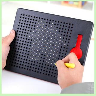 マグタブ マグネット おもちゃ 知育玩具 タブレット お絵かき ボード 学習 黒