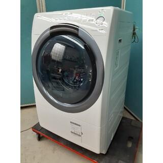 シャープ(SHARP)のシャープ ドラム式洗濯乾燥機7.0kg/3.5kg マンションサイズ ES-S7(洗濯機)