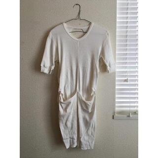 ジョンリンクス(jonnlynx)のjonnlynx ジョンリンクス バックオープンリブカットソー(Tシャツ(半袖/袖なし))