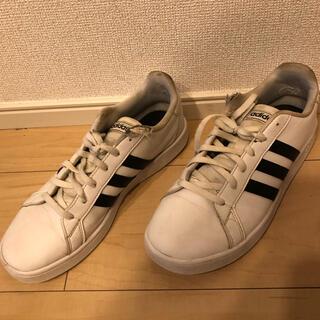 アディダス(adidas)のadidas アディダス グランドコート スニーカー シューズ 24cm(スニーカー)