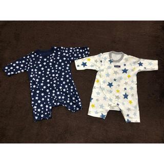新生児服 50~60cm 5点セット(ロンパース)