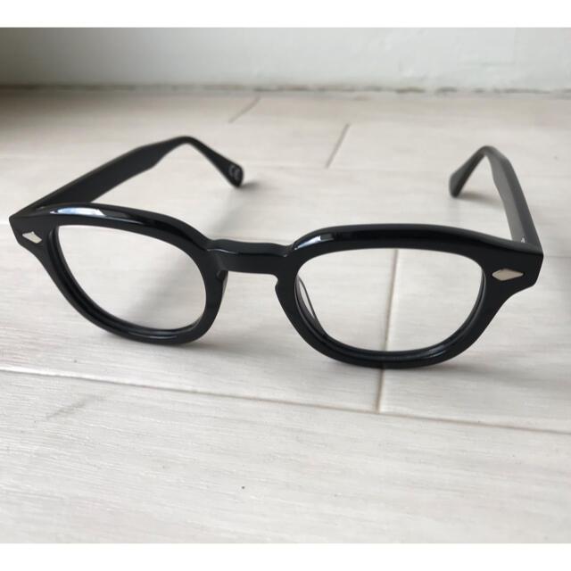 【新品未使用】タートオプティカル アーネル型 ボスリントン ブラック44 メンズのファッション小物(サングラス/メガネ)の商品写真