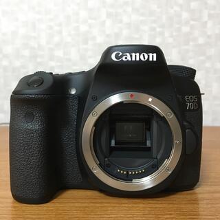 Canon - 超美品 Canon EOS 70D ボディのみ