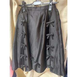 チェスティ(Chesty)のチェスティ  スカート   ブラック リボン(ひざ丈スカート)