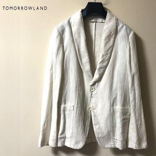 トゥモローランド(TOMORROWLAND)の新品 TOMORROWLAND トゥモローランド パイル ジャケット(テーラードジャケット)