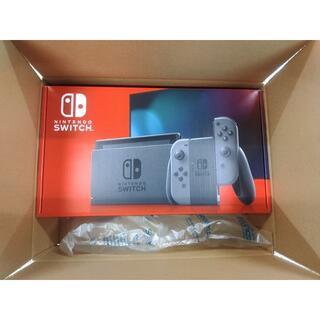 任天堂 - 【新品未使用】Nintendo Switch 本体 (グレー) 新モデル