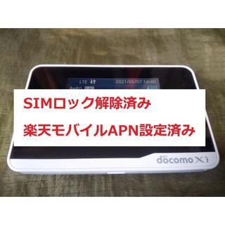 エヌティティドコモ(NTTdocomo)のHW-01F docomo SIMロック解除済み(PC周辺機器)