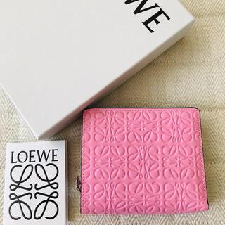 LOEWE - LOEWE ロエベ アナグラム コンパクト ZIP ウォレット 財布 新品未使用