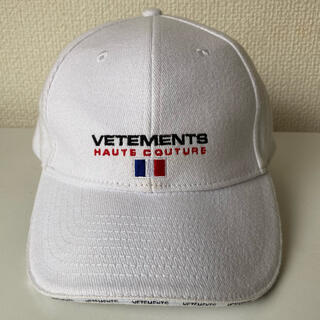 VETEMENTS cap white