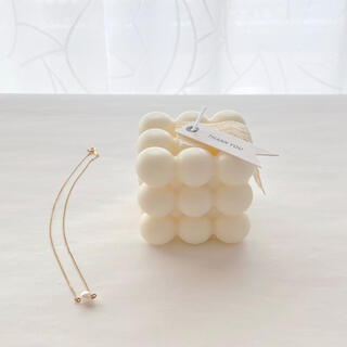 bon bon candle 韓国キャンドル ソイキャンドル(アロマ/キャンドル)