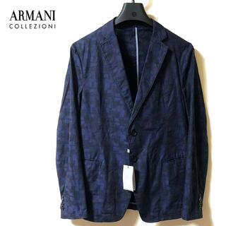 ARMANI COLLEZIONI - 新品 ARMANI COLLEZIONI アルマーニ 総柄 ライトジャケット