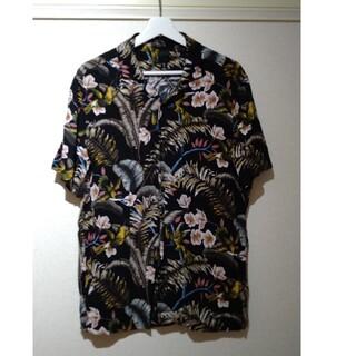 エイチアンドエム(H&M)のH&M 半袖シャツ ブラック M(シャツ)
