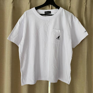 カンゴール(KANGOL)のパンダ店長様専用 KANGOL カンゴール Tシャツ ホワイト L(Tシャツ(半袖/袖なし))
